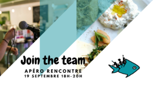19/9 - 18h-20h: Join the team - apéro rencontre