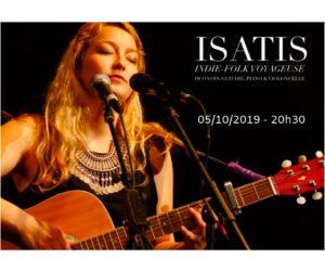 05/10/2019 - 19h: Concert Isatis