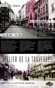 Atelier de la Traversée - nos corps dans l'espace urbain